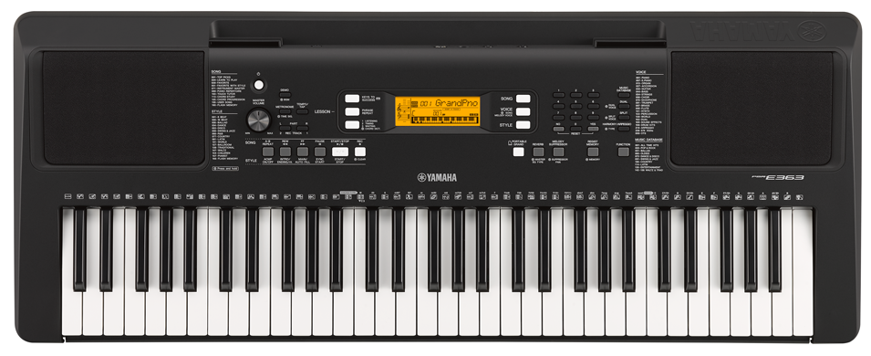 digital keyboards new yamaha psr e363