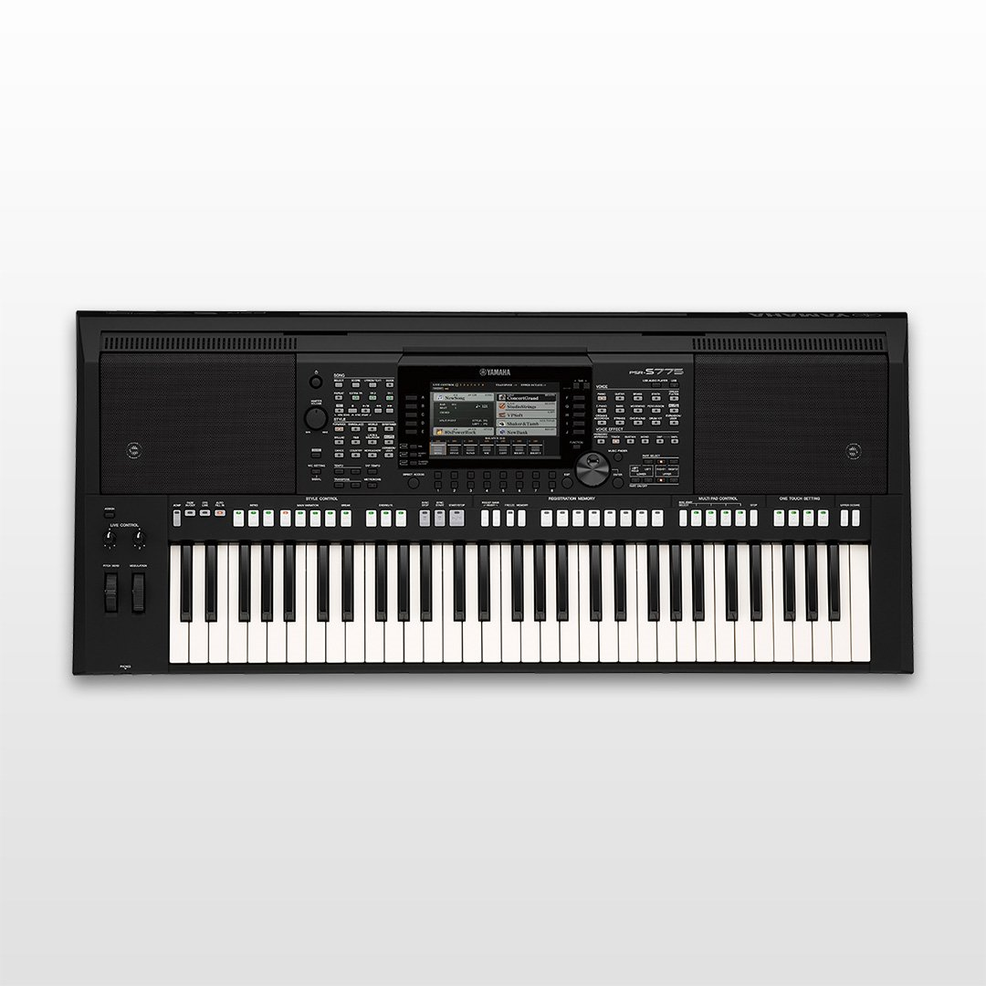 Digital keyboards new yamaha psr s775 for Yamaha professional keyboard price